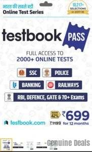 Testbook.com Pass – 1 Year Subscription at Rs.174