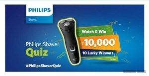 Amazon Philips Shaver Quiz Answers – Win Rs. 10000